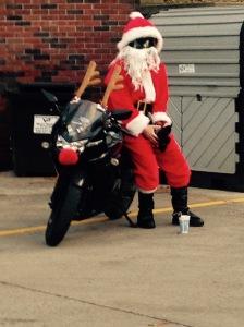 Santa at Sheetz 1
