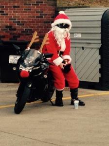 Santa at Sheetz 2